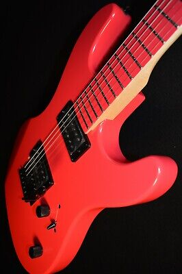 New Dean CZONE Custom Zone Fluorescent Pink Electric Guitar - Free Shipping - $193.45