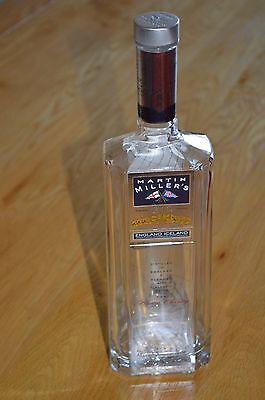 Martin Miller's Arctic Clarity Gin bottle 70cl - Upcycle Craft, wedding, light
