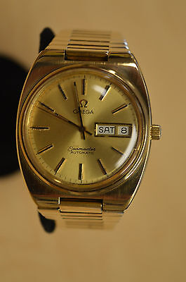 Vintage Omega Seamaster Automatic Day/Date Men's Wristwatch * Pre-owned* BIN