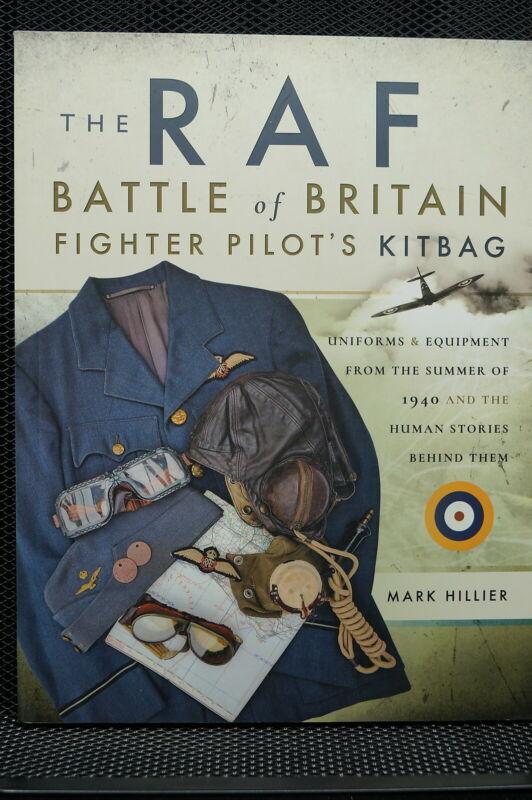 WW2 British RAF Battle Of Britain Fighter Pilots Kitbag Book