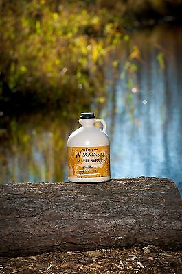 100  Pure Wis Maple Syrup Grade B Half Gallon New Grading Grade A Dark Robust