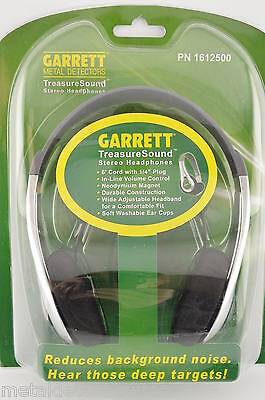 Garrett TreasureSound Headphones for Metal Detector