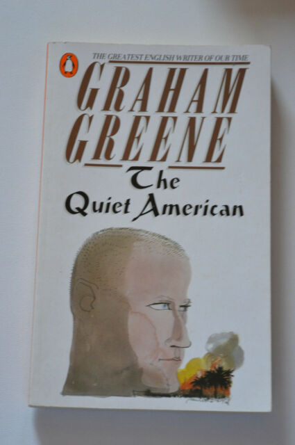 the quiet american,p/back by graham greene.penguin  p/back 1980
