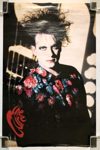 THE CURE 1990 Vintage US ORG POSTER  Robert SMITH Fiction Records Goth Post Punk