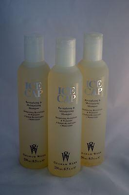 LOT OF 3 Graham Webb ICE CAP Revitalizing & Moisturizing Shampoo 8.5oz