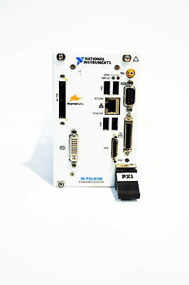 National Instruments Ni Pxi-8106 2.16 Ghz Dual-core Pxi Embedded Controller