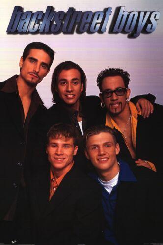 MUSIC POSTER~Backstreet Boys AJ,Kevin,Nick,Howie,Brian 1990