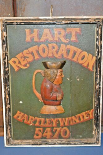 19th Century Hand Painted Pub Sign,