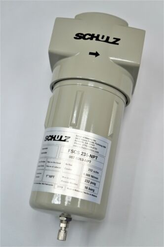 SCHULZ AIR DRYER/COMPRESSOR WATER SEPARATOR | 1 INCH - 007.0263-NPT