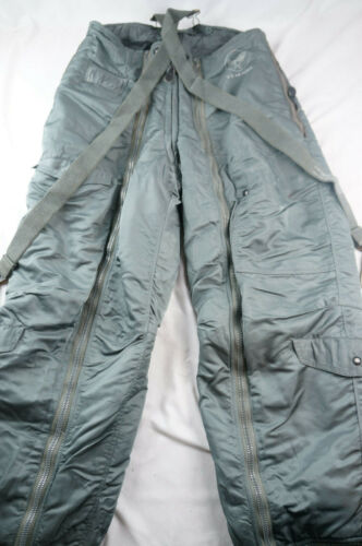 Genuine Flying Intermediate Trousers A-11D Mens Size 34 With Suspenders M120