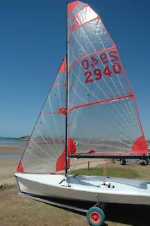Tasar Sailing Boat as new