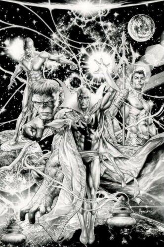 The Death of Doctor Strange #1 Anacleto Secret Sketch Virgin Variant LTD 300