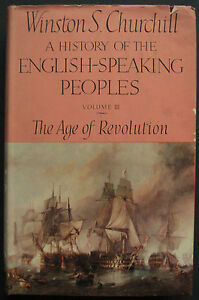 History-Of-The-English-Speaking-Peoples-Vol-3-1957-1st-Ed-H-B-D-J-Churchill