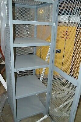 Little Giant Sl5-2424-78 All-welded Expanded Metal Compact Storage Locker