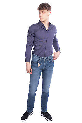RRP €160 SIVIGLIA Jeans Size 33 Stretch HAND PAINTED Faded Made in Italy