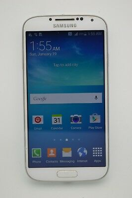 Samsung Galaxy S4 SGH-I337 16GB White GSM UNLOCKED TMOBILE AT&T METROPCS CRICKET
