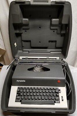 Vintage -olympia - Olympiette Sep - Japan -typewriter -ex. Shape -tested - Read