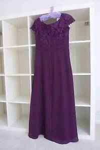 A-Line Princess Chiffon Lace - Mother of the Bride dress. Berowra Heights Hornsby Area Preview