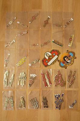 Konvolut alte Zigarrenbinden Zigarrenringe Banderolen Bauchbinden für Zigarren