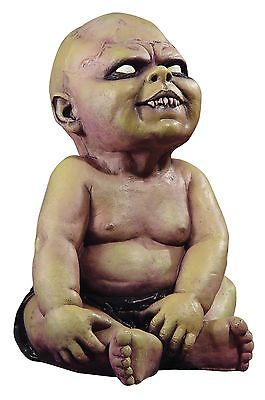 Halloween UGLY LITTLE ZOMBIE BABY FANG TEETH 16 INCH DECOR Prop Haunted House ()
