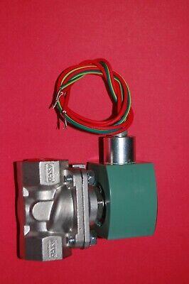Asco Stainless Steel Solenoid Valve 8210g87 8210g087 12 Npt 120 Volt 3ul05