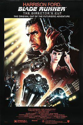 Blade Runner 1982 Retro Movie Poster A0-A1-A2-A3-A4-A5-A6-MAXI 246