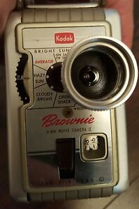 caméra kodak Brownie 8mm movie camera ii (2) 1950