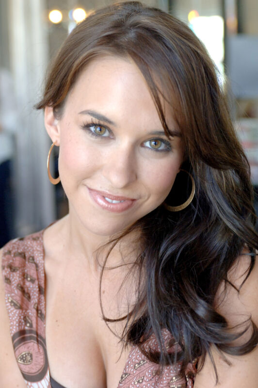 Lacey Chabert Posing With Hair On The Shoulder 8x10 Photo Print