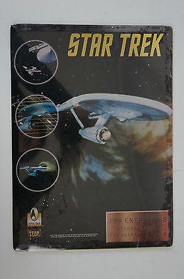 Star Trek Metallplatte Schild Team Metal Enterprise San Francisco 1996 OVP (B16)