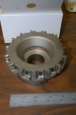 New Sumitomo Pwc45000r Milling Cutter For Cast Iron 5 Inch Dia Lnmx Inserts