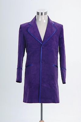 Willy Wonka and the Chocolate Factory 1971 Jacket Coat Trench Halloween Costume= - Willy Wonka Halloween Costume