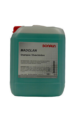 Bonalin Shampoo Duschlotion 10 Liter für Duschspender Hotel und Ferienwohnungen