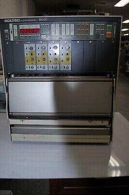 Soltec 8k40 Pen Oscillograph Chart Recorder