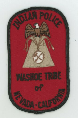 Washoe Tribe Nevada-California Indian Police Vintage Cheesecloth