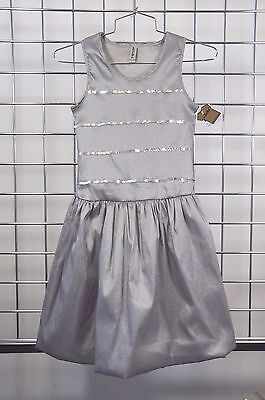 Designer Girls Dresses Sale (MIGNONE GIRLS DESIGNER CHAMPAGNE  SEQUINS SLEEVELESS PARTY DRESS SIZE 14 ON)