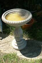 BIRD BATH VERY HEAVY CONCRETE 2 PIECES GOOD CONDITION Redcliffe Redcliffe Area Preview