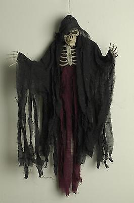 Deko Figur Dämon, Tod, Skelett, Geist Hängend  85 cm Halloween