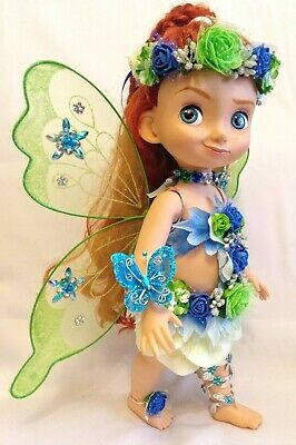 Muñeca DISNEY Animators Store,con conjunto artesanal de hada