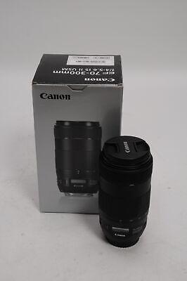 Canon EF 70-300mm F4-5.6 IS II Nano USM Lens 70-300/4-5.6                   #153