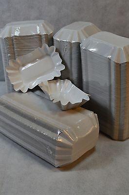 1000 Pommesschalen Pappteller KU51 Pommes Currywurst Schalen Imbiss Fritten