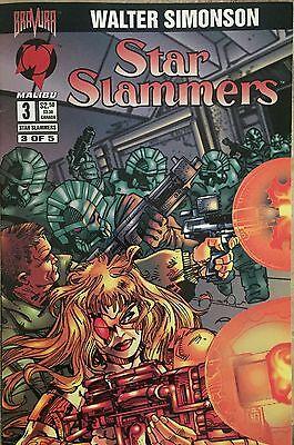 Star Slammers 1-4 Walt Simonson, Malibu, 1994-1995  - $6.00