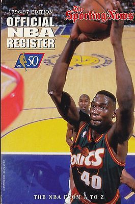 1996-97 SPORTING NEWS OFFICIAL NBA BASKETBALL REGISTER