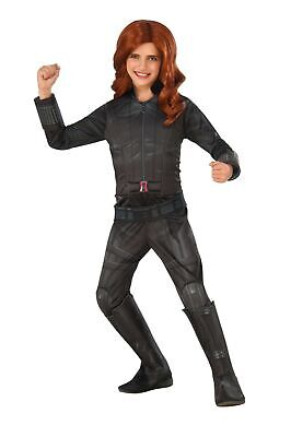 Avengers Kids Deluxe Black Widow Civil War Marvel Costume Officially Licensed - Civil War Costumes Kids