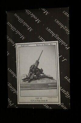 12.8cm Flak Gerät 40 + E-Messer 1:35 Peddinghaus  -Metall/Resin-Baus.  - Selten gebraucht kaufen  Rees