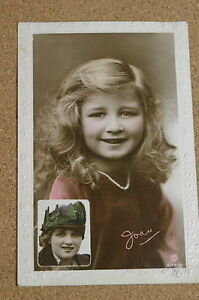 Vintage-Postcard-Gladys-Cooper-and-Daughter-Joan-Actress-Rotary-1917
