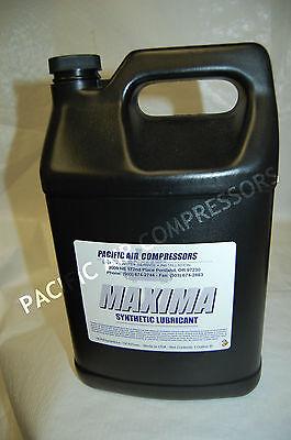 1 Gallon Maxima Synthetic Lubricant Compressor Oil Air Compressor Parts