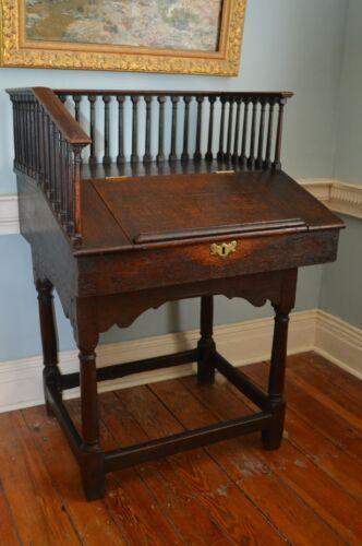 Early Oak Desk C.1720