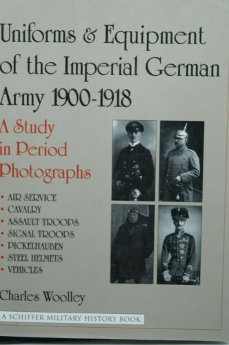 WW1 Germany Uniforms And Equipment Of The Imperial German Army 2 Reference Book