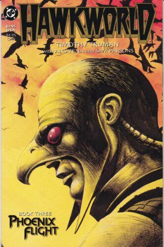 1989 Hawkworld #3 of 3 Phoenix Flight NM+ unread Hawkman DC Comics