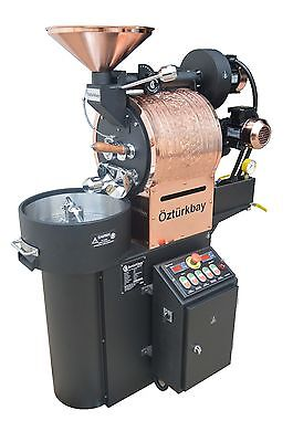 Ozturk 2.5 Kilo6lb Commercial Coffee Roaster New Custom Built Machine